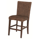 Coaster Westbrook Woven Counter Height Stool in Dark brown (Set of 2) 101096