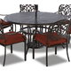 "Klaussner Outdoor Basics 60"" Round Dining Table W6000R DRT60"