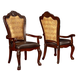 Coaster Benbrook Dining Arm Chair (Set of 2) in Dark Cherry 105513
