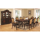 Coaster Benbrook 9-Piece Rectangular Dining Room Set in Dark Cherry