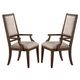 New Classic Furniture Sutton Manor Arm Chair in Distressed Oak D1505-25 (Set of 2)