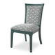 Somerton Open Seating Karolina Side Chair in Teal (Set of 2) 802C36