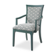 Somerton Open Seating Karolina Arm Chair in Teal (Set of 2) 802C46