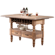 New Classic Furniture Cabana Counter Table in Stone D5568-12