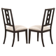New Classic Furniture Beacon Street Side Chair in Dusk D9282-20 (Set of 2)