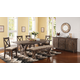 New Classic Furniture Tuscany Park 6-Piece Rectangular Dining Set in Vintage Gray
