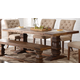 New Classic Furniture Normandy Rectangular Dining Table in Vintage Distressed D1232-10