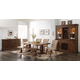 New Classic Furniture Normandy Park 6-Piece Rectangular Dining Set in Vintage Distressed