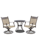 Klaussner Outdoor Cayside/Basics 3-Piece Coffee/Dining Table Set