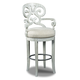 Hooker Furniture Mimosa Barstool in White 300-20006 (Set of 2)