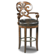 Hooker Furniture Jameson Leather Barstool in Medium Wood 300-20016 (Set of 2) PROMO