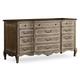 Hooker Furniture La Maison Credenza in Taupe Finish 5435-10465
