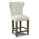 Hooker Furniture Rum Runner Deconstructed Counter Stool in Cream 300-25009 (Set of 2)