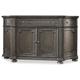Hooker Furniture Vintage West Buffet/Entertainment in Dark Charcoal 5700-75900