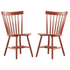 Bantilly Dining Room Chair in Orange D389-03 (Set of 2)