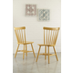 Bantilly Dining Room Chair in Gold D389-04 (Set of 2)