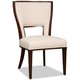 Hooker Furniture Dining Armless Chair in Dark Wood 300-350038 (Set of 2)