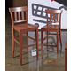 Bantilly Tall Barstool in Red D389-1430 (Set of 2)