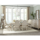 Hekman Homestead 7-Piece Rectangular Dining Set in Linen