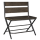 Kavara Double Barstool in Medium Brown D469-323