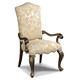 Hooker Furniture Arm Chair in Dark Wood 300-350082 (Set of 2)