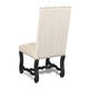Hooker Furniture Armless Dining Chair in Ebony 300-350087 (Set of 2)