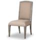 Hooker Furniture True Vintage Upholstered Side Chair (Set of 2) in Light Wood 5701-75410