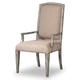 Hooker Furniture True Vintage Upholstered Arm Chair (Set of 2) in Light Wood 5701-75400