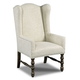Hooker Furniture Host Wing Back Arm Chair in Treviso 300-350126 (Set of 2)
