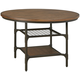 Rolena Round Dining Table in Brown D405-15