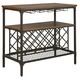 Rolena Server in Brown D405-60