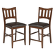 Renaburg Upholstered Barstool in Medium Brown D574-124 (Set of 2)