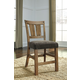 Tamilo Upholstered Barstool in Dark Brown D714-124 (Set of 2)
