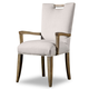Hooker Furniture Barrett Upholstered Arm Chair (Set of 2) in Medium Wood 638-75134