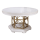 Legacy Classic Tower Suite Round-Oval Table in Pearl 5010-521K