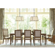 Universal Furniture Remix 9-Piece Rectangular Dining Set in Bannister