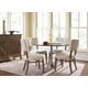 Universal Furniture Remix 5-Piece Round Dining Set in Bannister