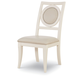 Legacy Classic Tower Suite Upholstered Back Side Chair in Pearl 5010-140 KD (Set of 2)