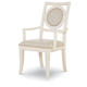 Legacy Classic Tower Suite Upholstered Back Arm Chair in Pearl 5010-141 KD (Set of 2)