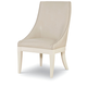 Legacy Classic Tower Suite Upholstered Host Chair in Pearl 5010-451 KD (Set of 2)