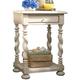 Paula Deen Home Sweet Tea Side Table in Linen