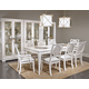 Legacy Classic Tower Suite 9-Piece Leg Dining Set in Pearl