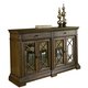 Legacy Classic Renaissance Credenza with Marble Top in Waxed Oak 5500-151