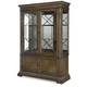 Legacy Classic Renaissance Display Cabinet in Waxed Oak 5500-174