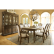 Legacy Classic Renaissance 9-Piece Leg Dining Set in Waxed Oak