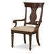 Legacy Classic Barrington Farm Splat Back Arm Chair in Classic 5200-141 KD (Set of 2)
