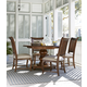 Paula Deen Home Dogwood 5-Piece Breakfast Dining Set in Low Tide