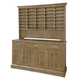 Universal Moderne Muse Sideboard with Sommelier's Hutch in Bisque CLOSEOUT