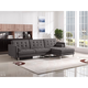 Diamond Sofa Opus Convertible Right Facing Chaise in Grey OPUSRFSECTGR