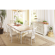 Cresent Fine Furniture Cottage 7-Piece Dining Room Set in Two Toned